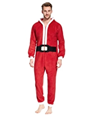 Santa Fleece Onesie