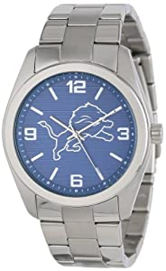 Game Time Unisex NFL-ELI-DET Elite Detroit Lions 3-Hand Analog Watch by Game Time