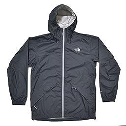 The North Face Bakossi Mens Rain Jacket (Vandadis Grey, XL)
