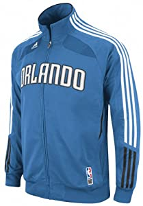 NBA adidas Orlando Magic Royal Blue Warm-Up Full Zip Performance Jacket by adidas