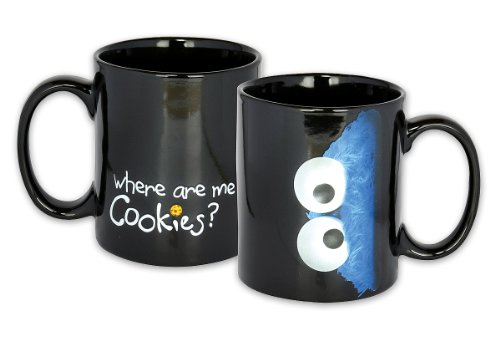 Sesame street Mug Where are me Cookies?