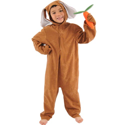 Brown Rabbit or Hare Costume for Kids 6-8 Years