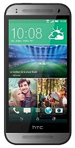 HTC One Mini 2 Smartphone 4G débloqué 4.5 pouces Android 4.4 KitKat 16 Go USB Gris