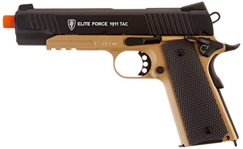 Elite Force 1911 Tac Airsoft Blk/Deb (Airsoft Gas Pistol 1911 compare prices)