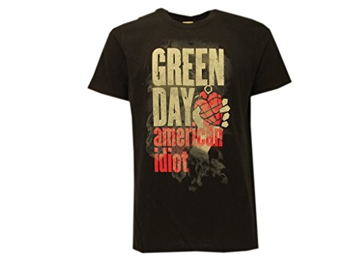 T-Shirt Green Day American Idiot - Musica Rock - XS
