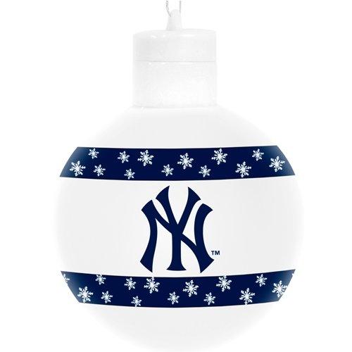New York Yankees MLB Light Up 3″ Ball Ornament