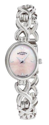 Rotary LB20214/07 Ladies Sterling Silver Bracelet Watch