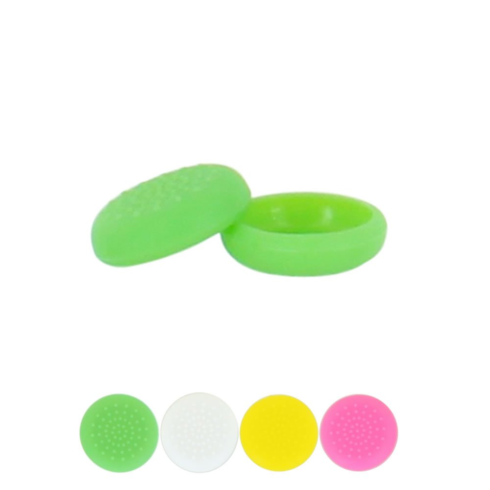 Skque® Silicone Thumb Stick Grip Cap Cover for Sony PlayStation 4 Controller, Green 2015 hot sale 5styles 1pcs silicone gel rubber case skin grip cover for playstation 4 ps4 controller free shipping