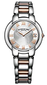 Raymond Weil Jasmine Silver Dial Two Tone Stainless Steel Ladies Watch 5235-S5-01658