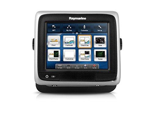 Raymarine-E70207-A-Serie-A68-WiFi-Touch-Multifunktionsdisplay-mit-Down-Vision-Fischfinder-145-cm-57-Zoll-Spiegelheckgeber-CPT-100