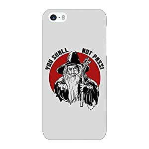 Jugaaduu LOTR Hobbit Gandalf Back Cover Case For Apple iPhone 5c