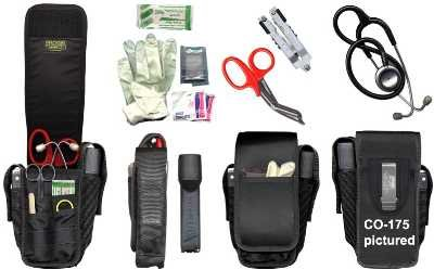 Ripoffs 9 Pocket EMT Holster for Trauma Equipment 175 (Side Clip)