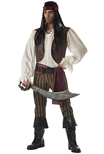 Rogue Pirate Costume - X-Large - Chest Size 44-46