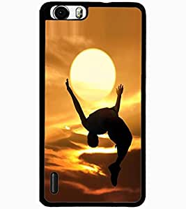 ColourCraft Creative Image Design Back Case Cover for HUAWEI HONOR 6 PLUS