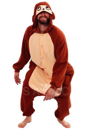 Monkey Kigurumi (Adults Costume) front-682356