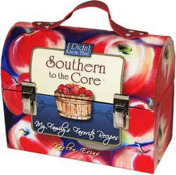 "Southern To The Core - ""My Family's Favorite Recipes"" - Lunchbox With Recipe Cards By Karlen Eving"