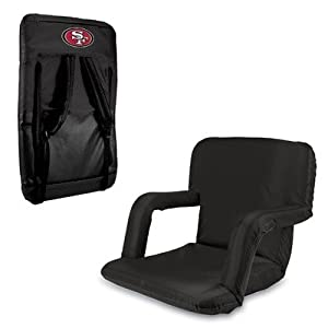 Nfl San Francisco 49ers Portable Ventura Reclining Seat Red from Picnic Time