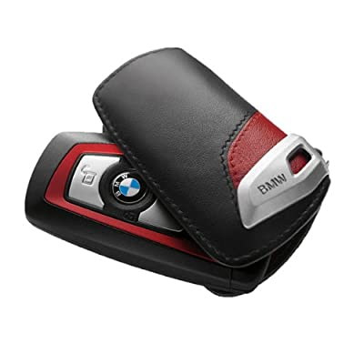 BMW Key Case Sport Line - Black/Red