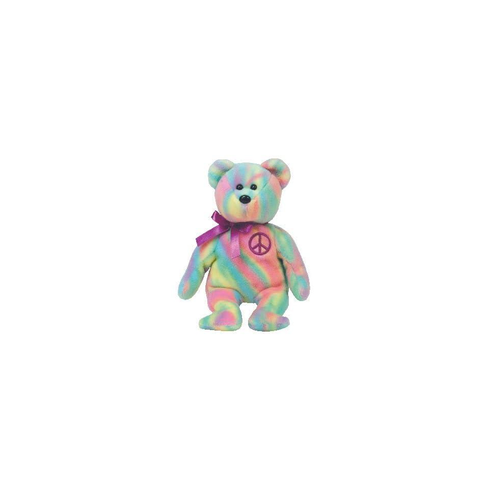 Erin the Green Irish Teddy Bear   MWMT Ty Beanie Babies