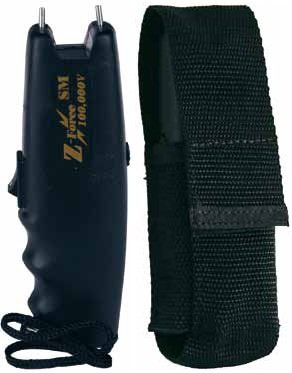 Z-Force SM 100,000 Volt Stun Gun with Nylon Holster