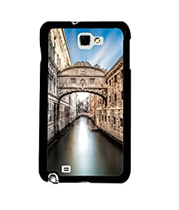Printvisa vintage view of venice Back Case Cover for Samsung Galaxy Note i9220::Samsung Galaxy Note 1 N7000