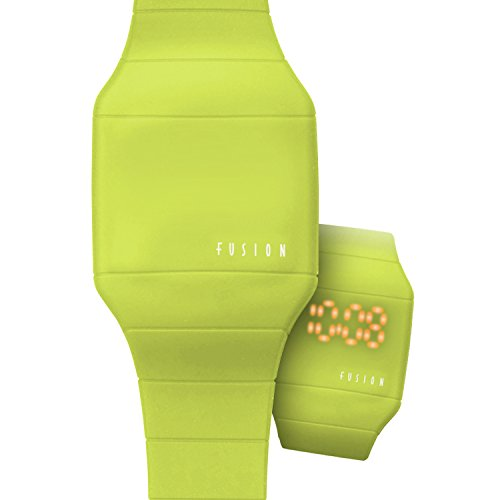 Dakota Fusion Lime Hidden Led Touch Screen Watch