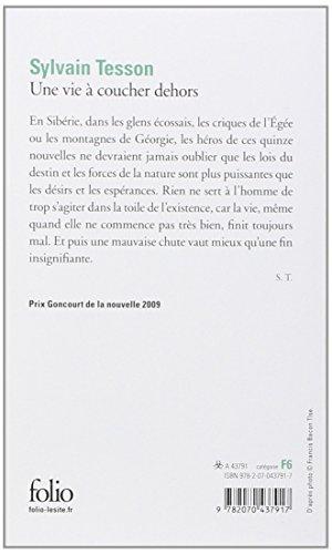 Libro une vie coucher dehors di sylvain tesson - Sylvain tesson une vie a coucher dehors ...