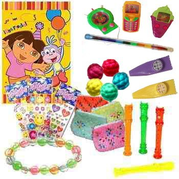 PRE FILLED Dora the Explorer PREMIUM Party Bag (Girls Toys)