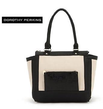 Black And Cream Shoulder Bag 70