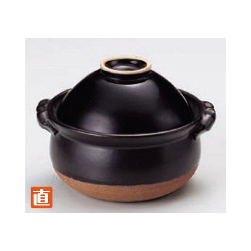 pan kbu621-16-712 [6.7 x 5.91 x 4.73 inch : 3.15 inch] Japanese tabletop kitchen dish Porridge pot Tianmu bowl with rice soup pot [17 x 15 x 12cm ? only 8cm] open fire inn restaurant tableware restaurant business kbu621-16-712