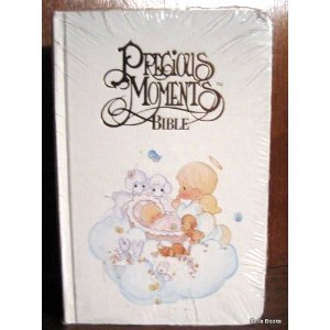 Precious Moments Bible -Baby Edition - New King James Version (Nkjv), White 50034, 202Pm front-607257