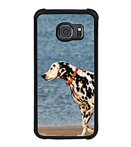 Vizagbeats Dalmatian Dog Back Case Cover For Samsung Galaxy S6