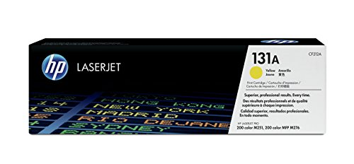 HP 131A (CF212A) Gelb Original Toner für HP LaserJet Pro 200 Color M251n, M251nw, MFP M276n, MFP M276nw