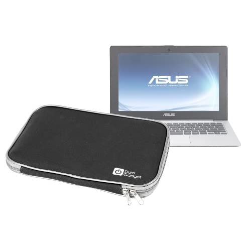 DURAGADGET  ASUS ASUSTek X202E (Corei3-3217U/4G/500GB/11.6/KINGSOFT (R) Office 2012/Win8 (64bit)) Champagne Gold X202E-CT3217G&Panasonic パナソニック Let's note レッツノート N9 CF-N9JWCDPS ( CPU Core i5 2.4GHz / MEM 2GB / HDD 250GB) Windows7搭載 ノートPC専用 キャリーケース (黒)