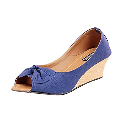 Ten Senses Tenwgboblu03 Women Peep Toes