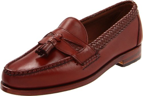 Allen Edmonds Men's Maxfield Tassel Loafer,Chili,12 B US