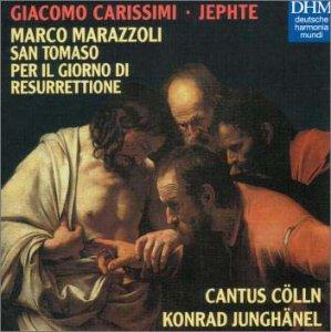 カリッシミ:イエフタ&マラッツォーリ:聖トマゾ&復活の日のために