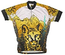Mountain Lion Cycling Short Sleeve Jersey XXX-Large