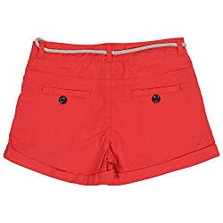 Irene Women's Cotton Shorts (Ire-hotshorts-red-_28,Red,28)