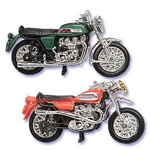 Set of 2 - Motorcycle Cake Toppers