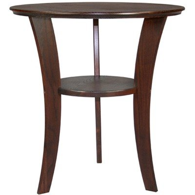 Cheap Contemporary Round End Table in Chestnut (B005H2MF9K)