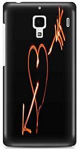KSC Desginer Printed Hard Back Case Cover For Xiaomi Redmi 1S