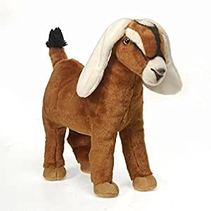 """Goat Plush Stuffed Animal Toy by Fiesta Toys - 12"""": Toys & Games"""