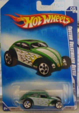 hot-wheels-2009-heat-fleet-custom-volkswagen-beetle-kmart-day-vw-05-10-121-190-by-mattel