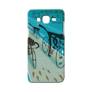 BLUEDIO Designer Printed Back case cover for Samsung Galaxy A5 - G5871
