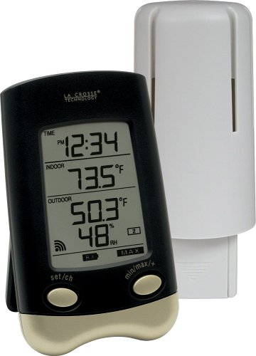 La Crosse Technology Ws-9023U-It-Cbp Wireless Thermometer With Outside Humidity