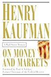 On money and markets:a Wall Street memoir