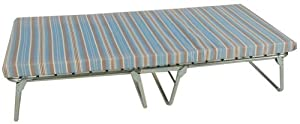 Blantex XK-5 wide Heavy Duty Steel Folding Bed with 3-3/16-Inch Mat