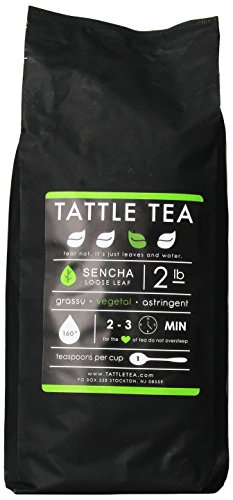 Tattle Tea Sencha Green Tea, 2 Pound