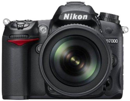 Nikon-D7000-162MP-Digital-SLR-Camera-Black-with-AF-S-18-105mm-VR-Kit-Lens-and-AF-S-NIKKOR-50mm-f18G-Twin-Lens-4GB-Card-Camera-Bag